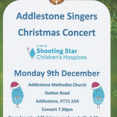 Addlestone Singers Christmas Concert