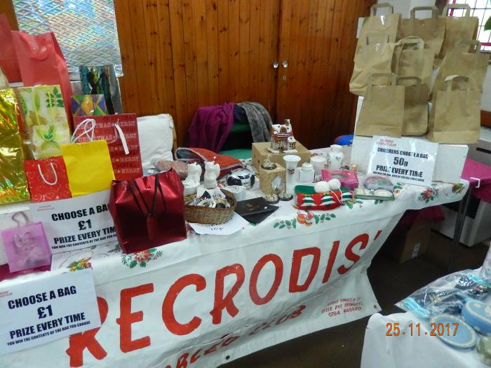 Charity Christmas Fair.