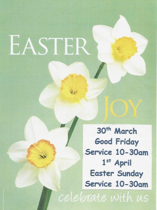 Easter Services March '18