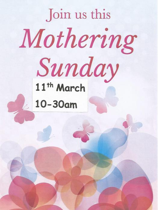 Mothering Sunday 18