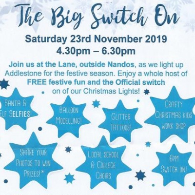 November 23 Addlestone Big Switch On 2 - 2019